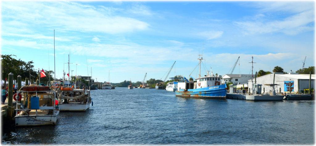Tarpon Springs harbour